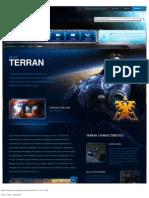 Terran Intro Page - Game - StarCraft II