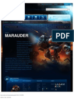 Marauder-Unit Description - Game - StarCraft II