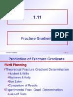 1.11 Fracture Gradients