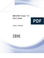 IBM SPSS Amos 19 User's Guide