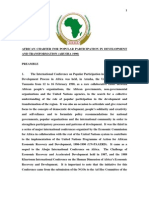 African Charter for Popular Particpation