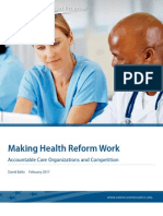 Making Health Reform Work