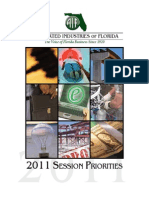 Associated Industries' 2011 Session Priorities