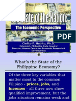 Economic briefing by Cielito Habito