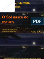 Eclipse Total do Sol, em Natal (2006)