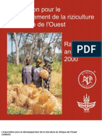 AfricaRice Rapport annuel 2000