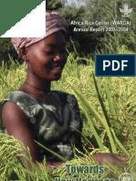 AfricaRice Annual Report 2003-2004