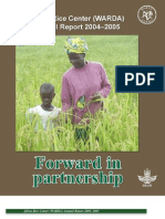 AfricaRice Annual Report 2004-2005