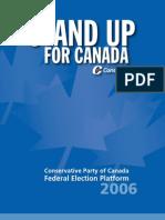Conservative Platform