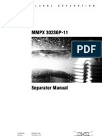 ALFA LAVAL Separation Manual MMPX303SGP