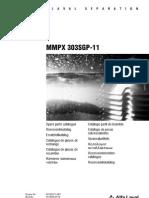 ALFA LAVAL Repuestos/Spare Parts MMPX303