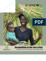 AfricaRice Annual Report 2008