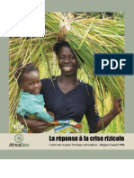 AfricaRice Rapport annuel 2008