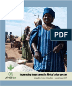 AfricaRice Annual Report 2009