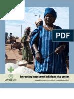 AfricaRice Annual Report 2009