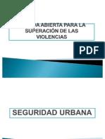 Presentación Seguridad Urbana.