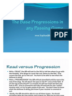 Base Progressions in Any Passing Game