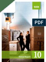 SEB's annual report 2010