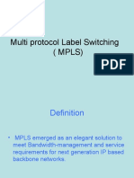Multi Pro to Cal Label MPLS
