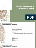 Healthy Communities Official Plan Policies