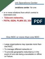 Responsibilities of NOC
