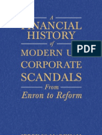 A Financial History of Modern U.S. Corporate Scandals. From Enron to Reform