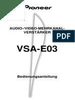 PIONEER VSA-E03GE