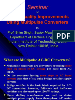 Power Quality Improvements Using Multipulse Converters