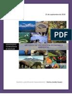 Metodología para la valoración económica ambiental
