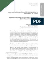 """IDEA_seccion_01_""""Civismo y cultura política. ¿Cómo se practica la democracia en Chile?""""_Duhart"""