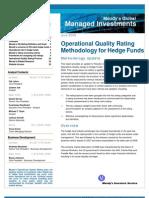 Managed Funds OQ Methodology