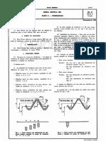 NB 97 - Rosca Métrica ISO - Tolerâncias