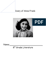 The Diary of Anne Frank Packet