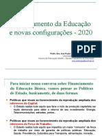 25 11 2020 Financiamento da Educação - Ana Paula Santiago Nascimento