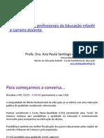 Financiamento, profissionais da Educação infantil e Carreira
