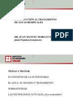 INTRODUCCIÓN AL TRATAMIENTO DE AGUAS RESIDUALES. DR. JUAN MANUEL MORGAN SAGASTUME