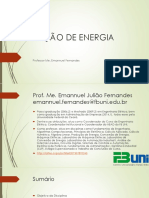 Aula 1 - Produção de Energia