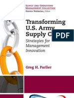 Transforming U.S. Army Supply Chains