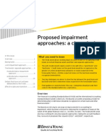 Proposed impairment approaches