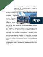 DIAGNÓSTICO PRIMARIO PLANEAMIENTO