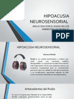 HIPOACUSIA NEUROSENSORIAL