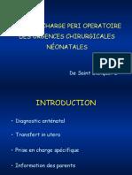 urgences chirurgicales néonatales
