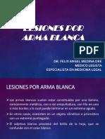 Traumatología Forense III (Lesiones Por Arma Blanca)