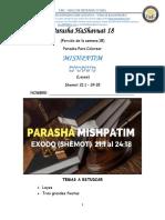 18.PARASHA 18 MISHPATIM -Colorear