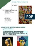 Anc3a1lisis e Interpretacic3b3n de La Obra Pictc3b3rica