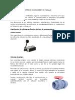4.8 tipos de accionamiento de valvulas