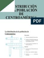 La Distribución de La Población de Centroamérica