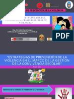 JORNADA DE PREVENCION DE LA VIOLENCIA DE DOCENTES Y DIRECTIVOS