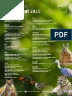 Calendario Efemerides 2021