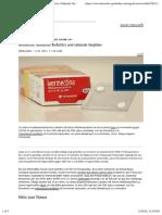 nCoV - Lösungen - 2021-02-18 - Ein Antiparasitikum gegen COVID-19? - Ivermectin- Glühende Verfechter und rationale Skeptiker